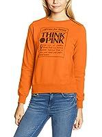 THINK PINK Sudadera (Naranja)