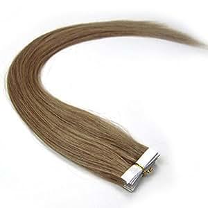 Amazon.com : 16quot;18quot;20quot;22quot;24quot; Tape Hair In Real Huma