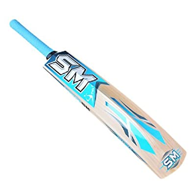 SM Blaster Kashmir Willow Cricket Bat, Size 4