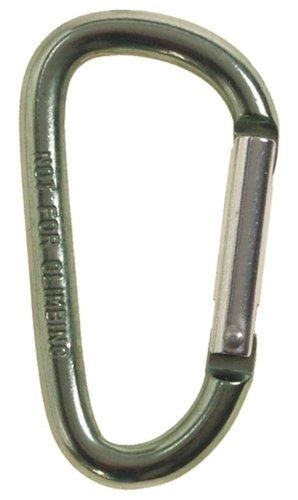 Karabiner Karabinerhaken, Materialkarabiner D 6mm x 6cm, oliv 6 mm x 6 mm