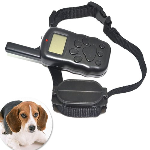 Greenwon Lcd Display Pets Dogs Shock Discipline Control Training Collar With Remote Control