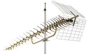 Directional UHF HDTV Antenna 70 Mile Range