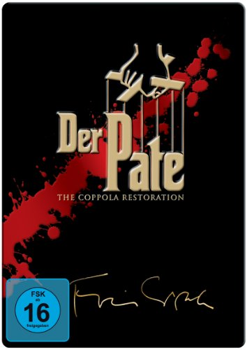 Der Pate Trilogie - The Coppola Restoration (5 DVDs, limitierte Steelbook Edition)