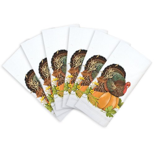 Thanksgiving cloth napkins thanksgiving wikii for Turkey napkins
