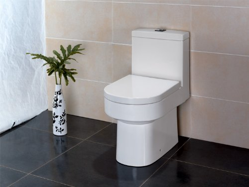 EAGO Design Stand-WC TA345SP Boden-/Wandabfluss