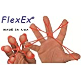 FlexEx 0001 Finger, Hand and Forearm Exerciser, Pack of 3