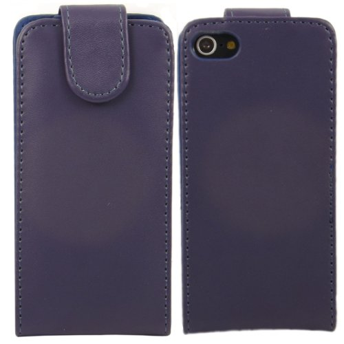 Flip Case Cover Skin For Apple Ipod Touch 5 5Th Generation / Violet Purple