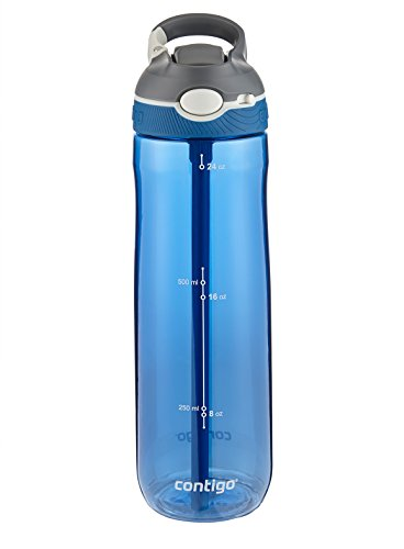 Contigo  Autospout Ashland Water Bottle, 24 oz, Monaco (Clip Spout Lid compare prices)