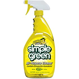 Simple Green 14002 Lemon Scent All-Purpose Cleaner, 24oz Trigger Spray