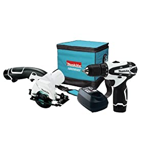 Makita LCT208W 12-Volt max Lithium-Ion Cordless 2-Piece Combo Kit