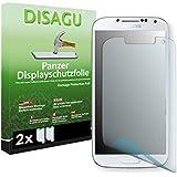 2 x Disagu Panzerfolie Displayschutzfolie für Samsung Galaxy S4 Bruchschutzfolie