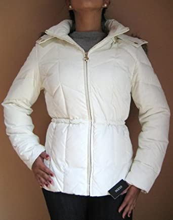 Buy Guess Down Jacket Coat, Cream, Xlarge, Md106 by GUESS