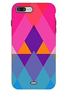 Colorful Triangle -Abstract - Designer Printed Hard Back Shell Case Cover for iPhone 7 Superior Matte Finish iPhone 7 Cover Case