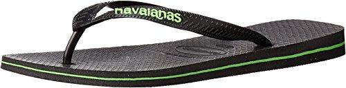 havaianas-mens-logo-filete-flip-flops-black-neon-green-sandal-43-44-us-mens-11-12-m