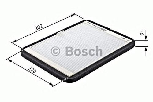 BOSCH Cabin Air Filter Fits VOLVO V40 S40 VS VW 1995-2004 30612666