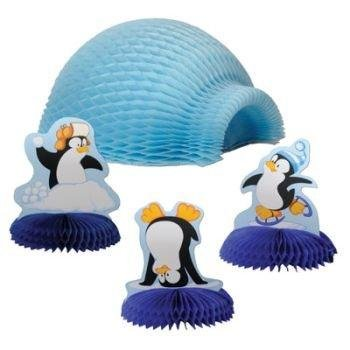Penguin Tabletop Igloo Display 4-Piece Set - 1