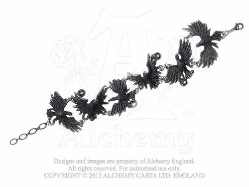 alchemy-gothic-beflockung-raben-armband-a101