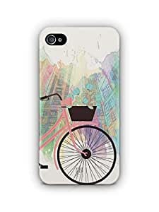 YuBingo Bicycle on High Street Mobile Case Back Cover for Apple iPhone 4S