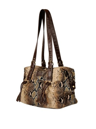 My Cocolime Shanti Brown Python Diaper Bag