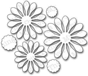 Die-Namics Die-Plentiful Petals