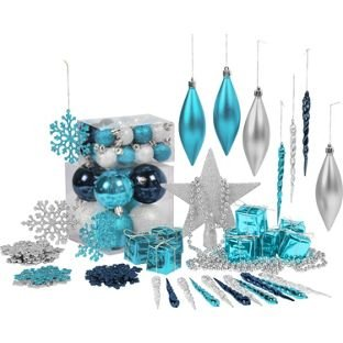 pack-of-75-christmas-decorations-blue-silver-and-white