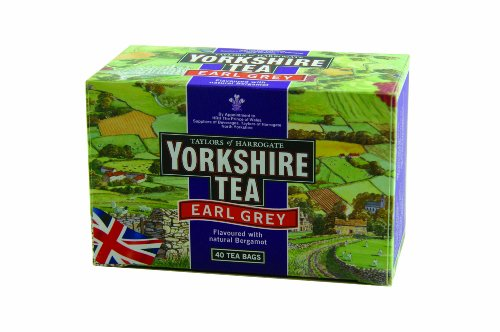 Taylors of Harrogate Yorkshire Earl Grey, 40-Count Tea Bags (Pack of 6)