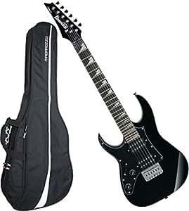 ibanez grgm21bknl left handed mikro mini electric guitar black w gig bag musical. Black Bedroom Furniture Sets. Home Design Ideas