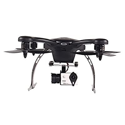 GHOST Aerial UAV Drone with Support GoPro camera (Android Version) (Black)