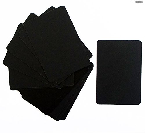 hand-well-made-tools-lot-de-15-mini-tableaux-pour-affichage-sur-lesquels-ecrire-a-la-craie-7-x-10-cm