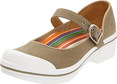 Dansko Women's Valerie Canvas,Sand,36 EU/5.5-6 M US