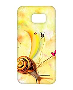 1on1 Selfie Back Cover for Samsung Galaxy S7 Edge (Multi-coloured)