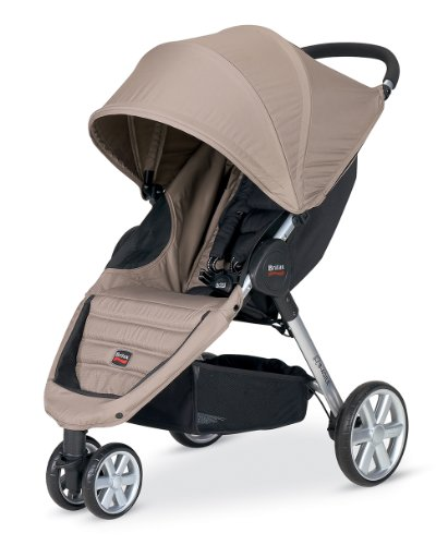 britax 2013 b agile stroller sandstone baby shop. Black Bedroom Furniture Sets. Home Design Ideas