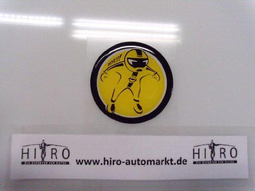 Emblem Rennfahrer Opel Adam Aufkleber Rallye 171607 Original Opel selbstklebend