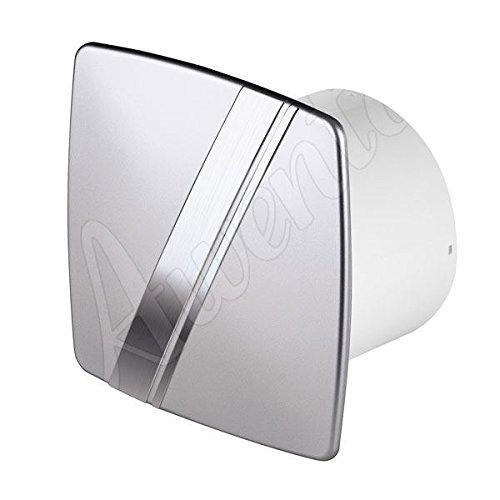 Satin cappa aspirante a parete 100 millimetri Awenta stile linea con sensore di umidità timer e