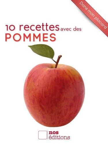 Couverture du livre 10 recettes avec des pommes