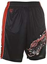 Ed Hardy Tiger Mesh Shorts - Black - Medium