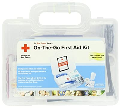 The First Years American Red Cross On The Go First Aid Kit by The First Years