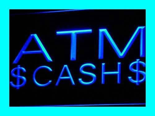 Adv Pro I470-B Atm Cash Dollar Display Machine Neon Light Sign