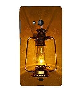 Black Electric lantern 3D Hard Polycarbonate Designer Back Case Cover for Lumia Lumia 540 :: Microsoft Lumia 540