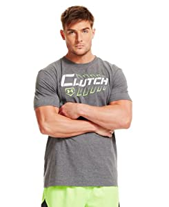 Buy Under Armour Mens UA Clutch Baseball T-Shirt by Under Armour
