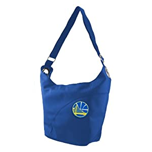 NBA Golden State Warriors Ladies Colo Sheen Hobo Purse, Royal by Littlearth