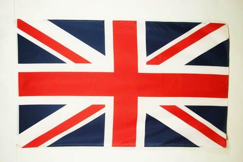 BANDIERA REGNO UNITO 150x90cm - GRAN BANDIERA BRITANNICA - INGLESE - UK 90 x 150 cm Poliestere leggero - Bandiere - AZ FLAG