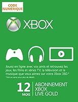 Abonnement Xbox Live Gold 12 mois [Téléchargement]