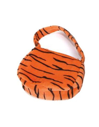 New Tiger Safari Print Costume Accessory Hand Bag Purse