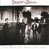 DEACON BLUE WHEN THE WORLD KNOWS YOUR NAME 1989 VINYL LP DEACON BLUE