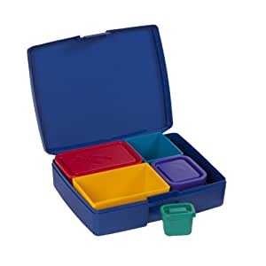 bento lunch box primary usa made with leak proof containers perfect for w. Black Bedroom Furniture Sets. Home Design Ideas