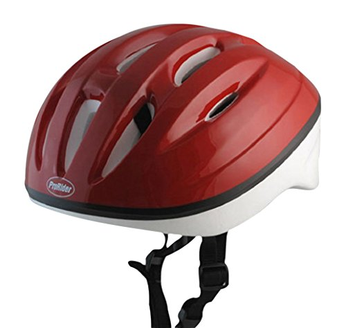 Great Deal! Economy Bike Helmet with White Foam, Includes Bonus Weatherproof Vinyl Permanent Adhesiv...