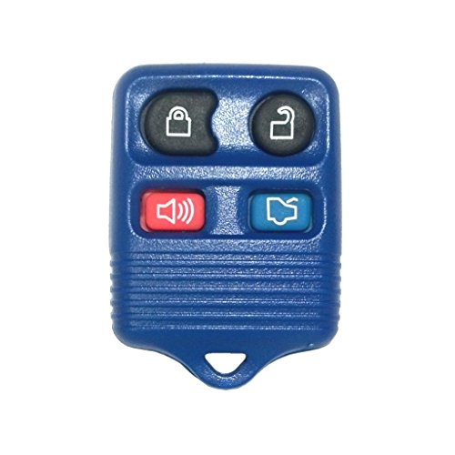 Usaremote 4 Button Navy Replacement Keyless Entry Remote Control For Ford, Lincoln, And Mercury Vehicles front-639890