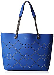Marc by Marc Jacobs Metropoli Metal Grommet Tote Handbag, True Blue, One Size