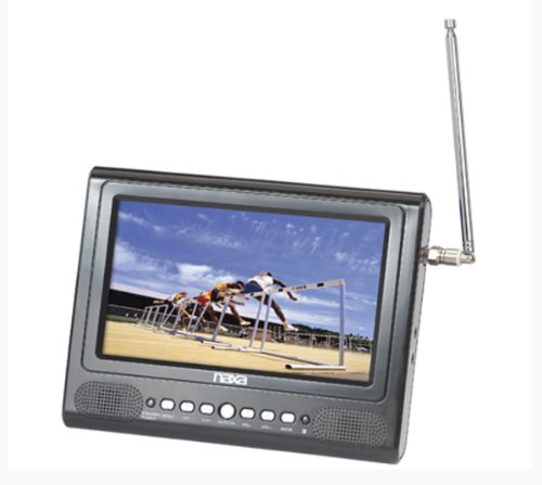 7 inch Naxa NT-7580 Widescreen AC/DC Digital LCD TV w/ FM Radio and USB/SD/MMC Inputs